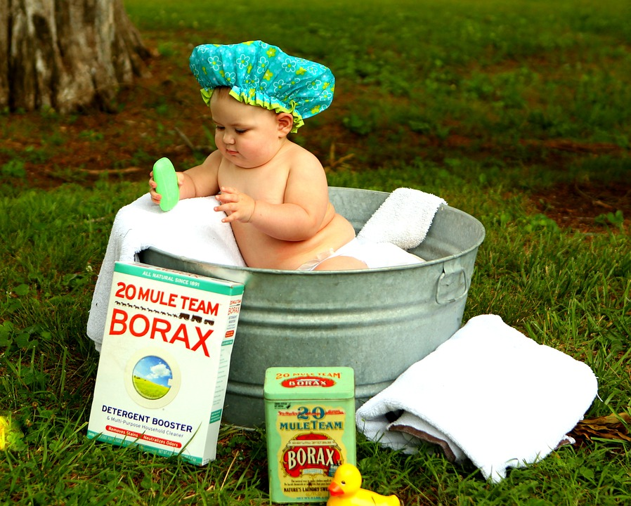 Baño del bebé-sugerencias-Mamás360