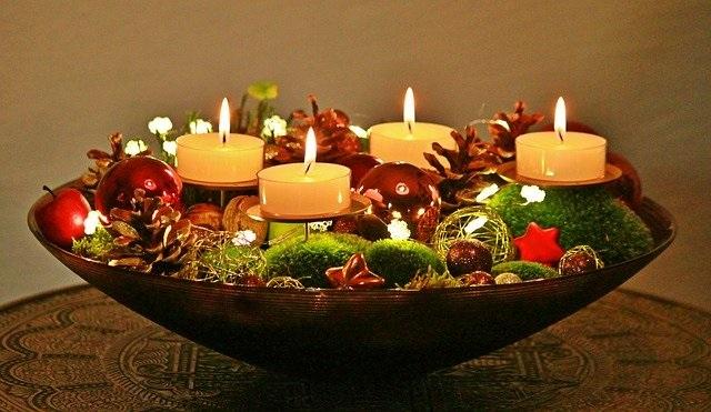 El espíritu de la Navidad - centro de mesa - Mamás360